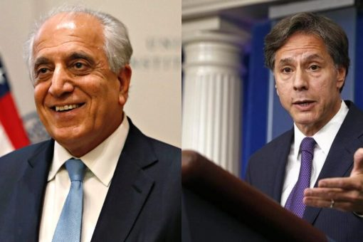 Blinken confirms Khalilzad to stay on as US peace envoy